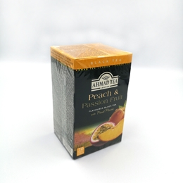 HERBATA AHMAD PEACH&PASSION FRUIT 20 TOREBEK
